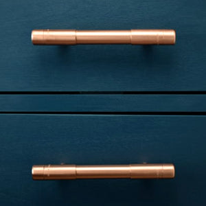 t bar pull-t pull-thick bodied copper pull-large pull handle-copper handles and pulls-copper drawer handles-bar pulls