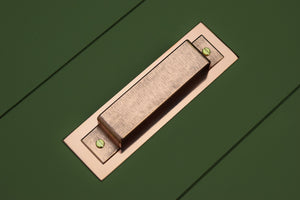 Textured Folded Handle - Proper Copper Design