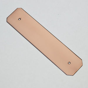 Angled Copper Backplate - Proper Copper Design
