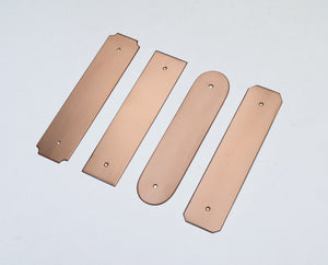 Curved Copper Backplate