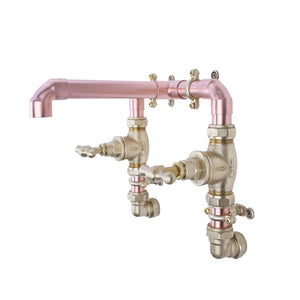 Copper Tap, Handcrafted copper and brass tap, copper faucet- mixer taps- Copper taps for sale uk-