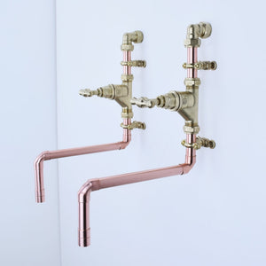 Layou Copper Taps, Proper Copper Design, Copper Taps, Handcrafted Taps, Copper and Brass taps