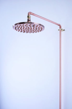 copper shower-proper copper design-london interior designers-Brighton interior designer