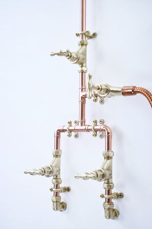 Copper Shower - Kintampo - Proper Copper Design