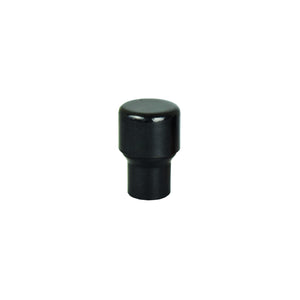 Matt Black Raised Copper Knob - Proper Copper Design