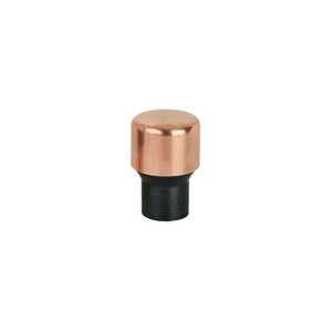 Matt Black Raised Copper Knob - Satin Mix - Proper Copper Design
