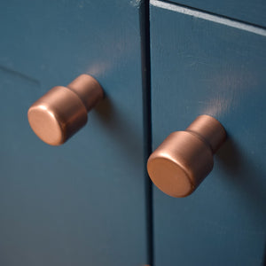 RaisedCopperKnob-ProperCopperDesign-copperknobsandpulls-copperhardware-copperkitchenhandles