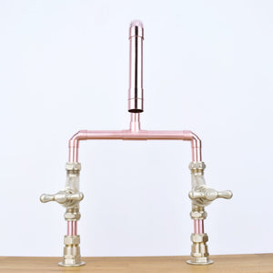 Rio Copper Mixer Tap - Proper Copper Design