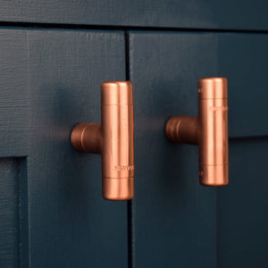 Copper T Knob - Proper Copper Design