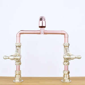 Copper Mixer Tap - Tagus - Proper Copper Design