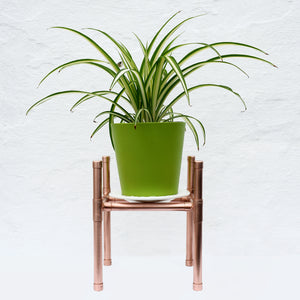 Proper Copper Design-Handmade Copper Plant Stand-Copper home ware-plant stands-plant display