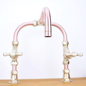 Vistula Copper Mixer Tap, Proper Copper Design, Copper Mixer Tap, Handcrafted Tap, Copper and Brass tap