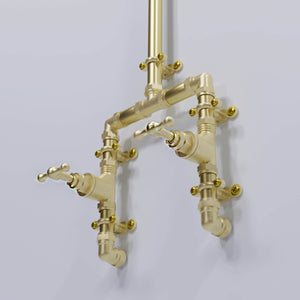 Brass Shower - Gurara Falls - Proper Copper Design