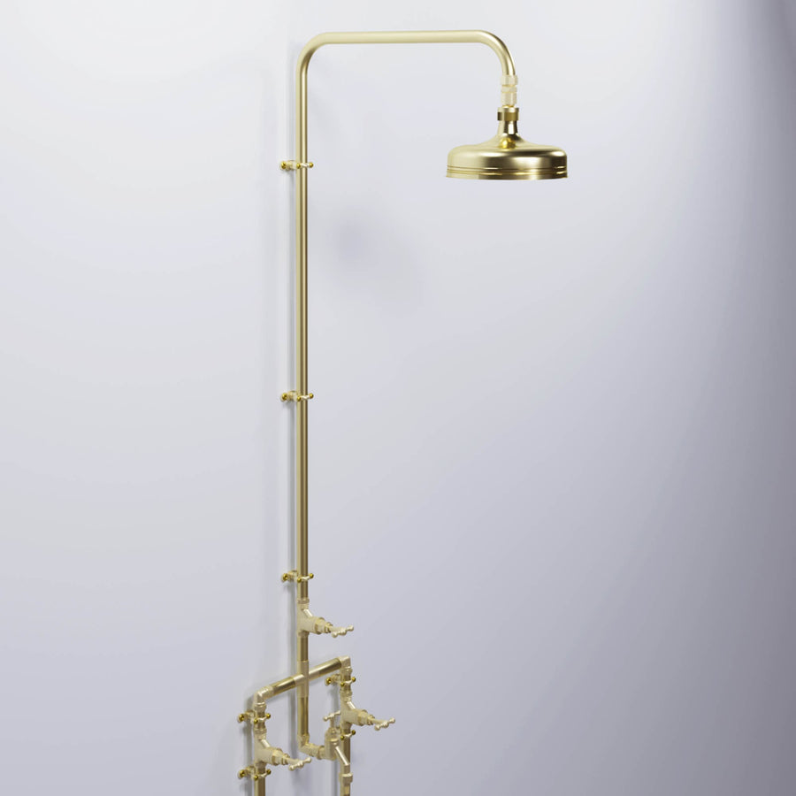 Brass Shower - Thilorsu Falls - Proper Copper Design