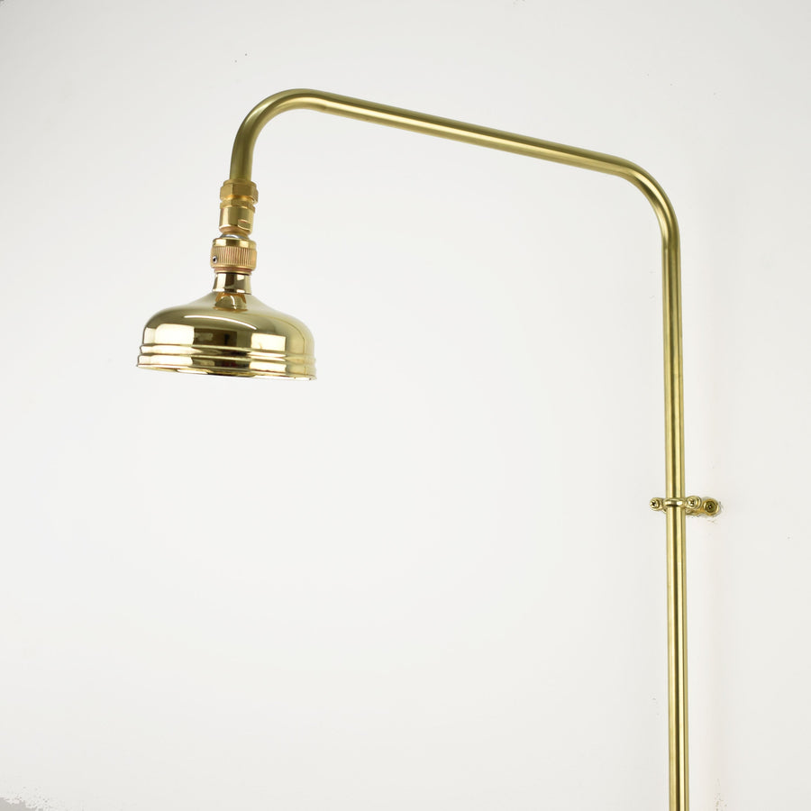 Brass Shower Head - Small Bell Traditional - Proper Copper Design