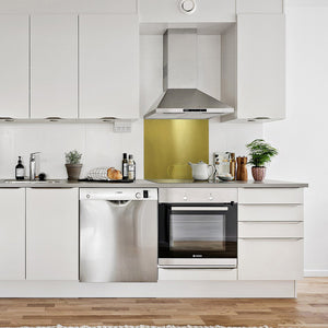 Brass Kitchen Splashback - Proper Copper Design