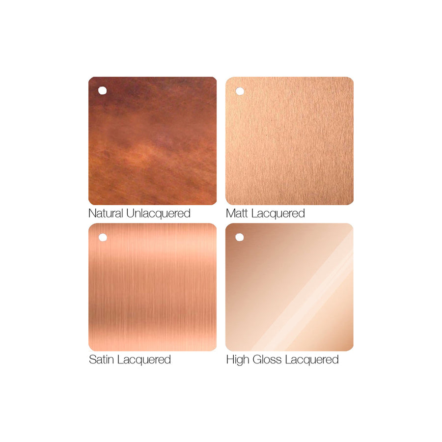 Copper Finishes Tiles - Proper Copper Design
