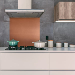 Copper Kitchen Splashback - Proper Copper Design