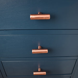 Copper T Knob Thick-Bodied - Proper Copper Design