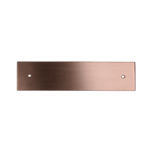 Rectangular Copper Backplate