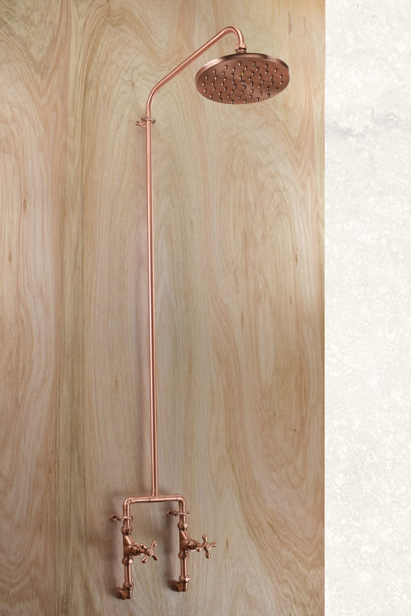 Luxor Pure Copper Shower - Proper Copper Design
