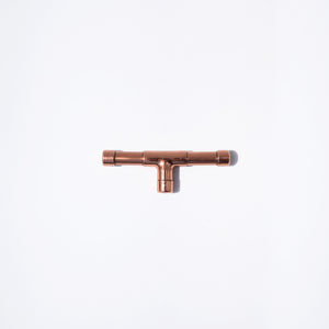 Solid Copper Knob (Mini) Extended T-shape - Proper Copper Design