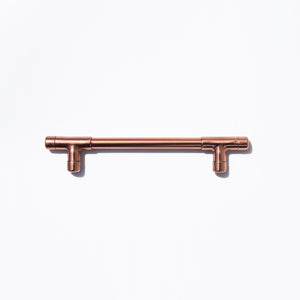 Proper Copper Design Mini Copper T Pull Handle Copper T Pull-CopperTPull-Tbarpulls-copper drawer pulls-copper kitchen hardware-copper cabinet hardware-proper copper design