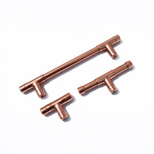 Solid Copper Handle T-shaped (Mini) - Proper Copper Design