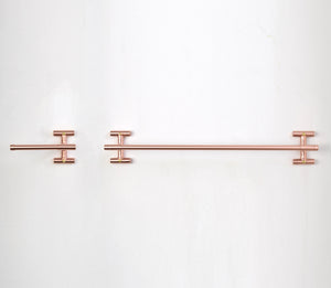 I-mounted Copper Bathroom Set - Proper Copper Design