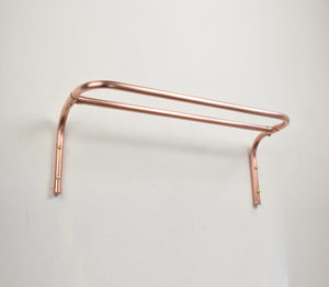 Proper Copper Design Vintage Retro Towel Rail Industrial Minimal Bathroom Interior