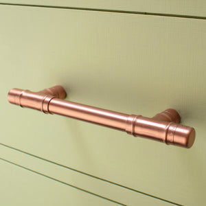 Copper Pull Handle T-shaped - Vintage - Proper Copper Design