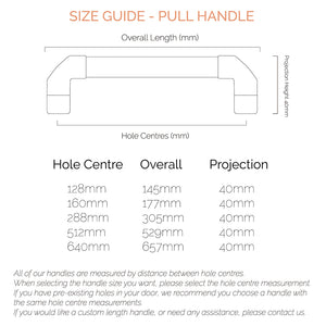 size guide-handle size guide-measurement guide