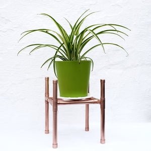 Proper Copper Design-plant stands-plant holders-hallway plant stand-tall plant stands