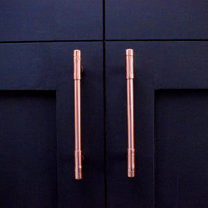 Mini Copper T Pull Handle (Solid Copper) - Proper Copper Design