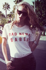 bad news babes original FEATHER HEARTS