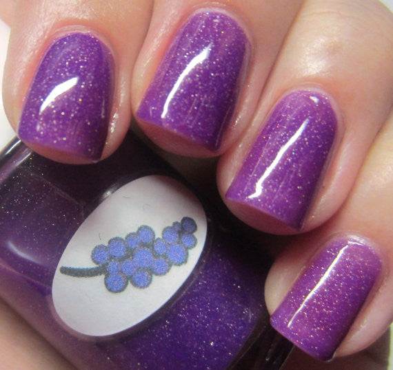 Neon Shimmer Jelly Grape