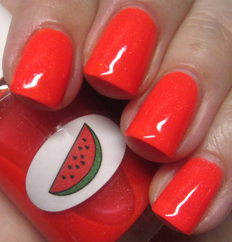 Neon Shimmer Jelly Watermelon