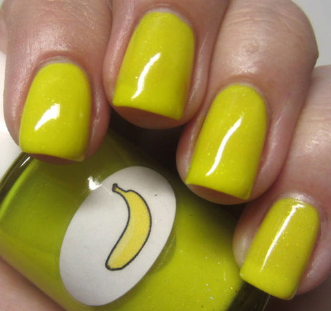 Neon Shimmer Jelly Banana