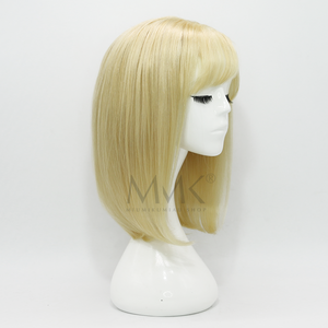 Lace Front Natural Rubia / Fleco