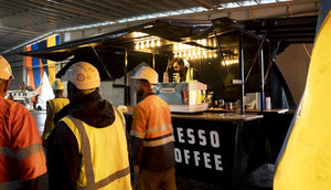 Coffee shout onsite for Accessman
