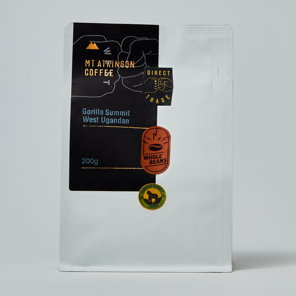 Gorilla Summit West Ugandan - Natural process FILTER ROAST.