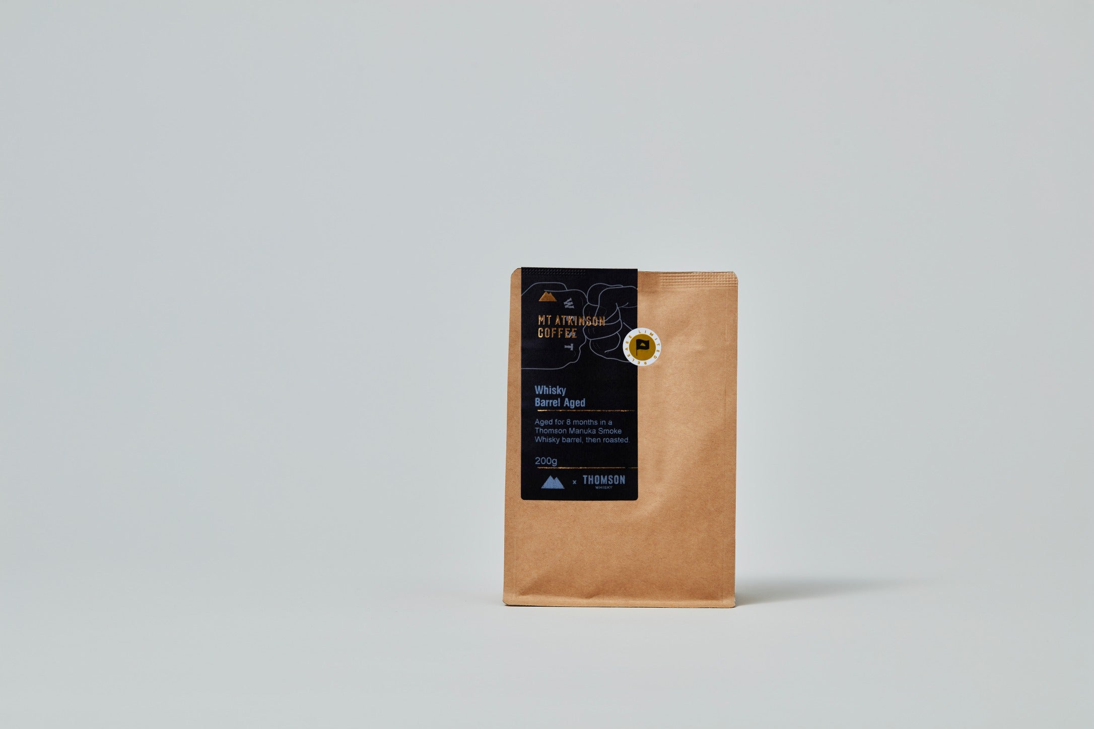 Whisky Barrel Aged Coffee 200g - Thomson Whisky Collaboration