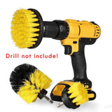 3pcs Power Scrubber Brush Set