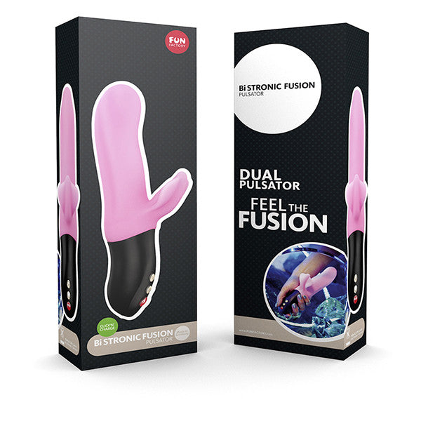 Fun Factory Bi Stronic Fusion Candy Rose Package