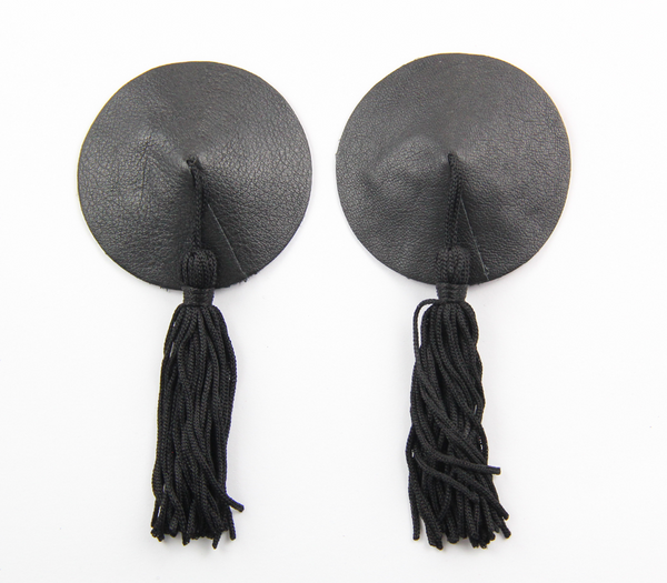 Muse Leather Nipple Tassle