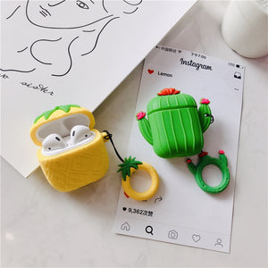 Pineapple & Cactus Airpods Case - Phonocap