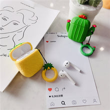 Load image into Gallery viewer, Pineapple & Cactus Airpods Case - Phonocap