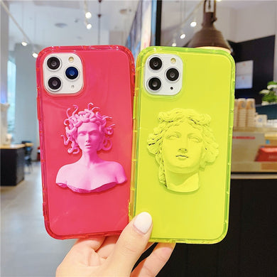 Fluorescent Art Statue Phone Case - Phonocap