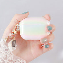 Load image into Gallery viewer, Pearl Shell Airpods Case with Keychain - Phonocap