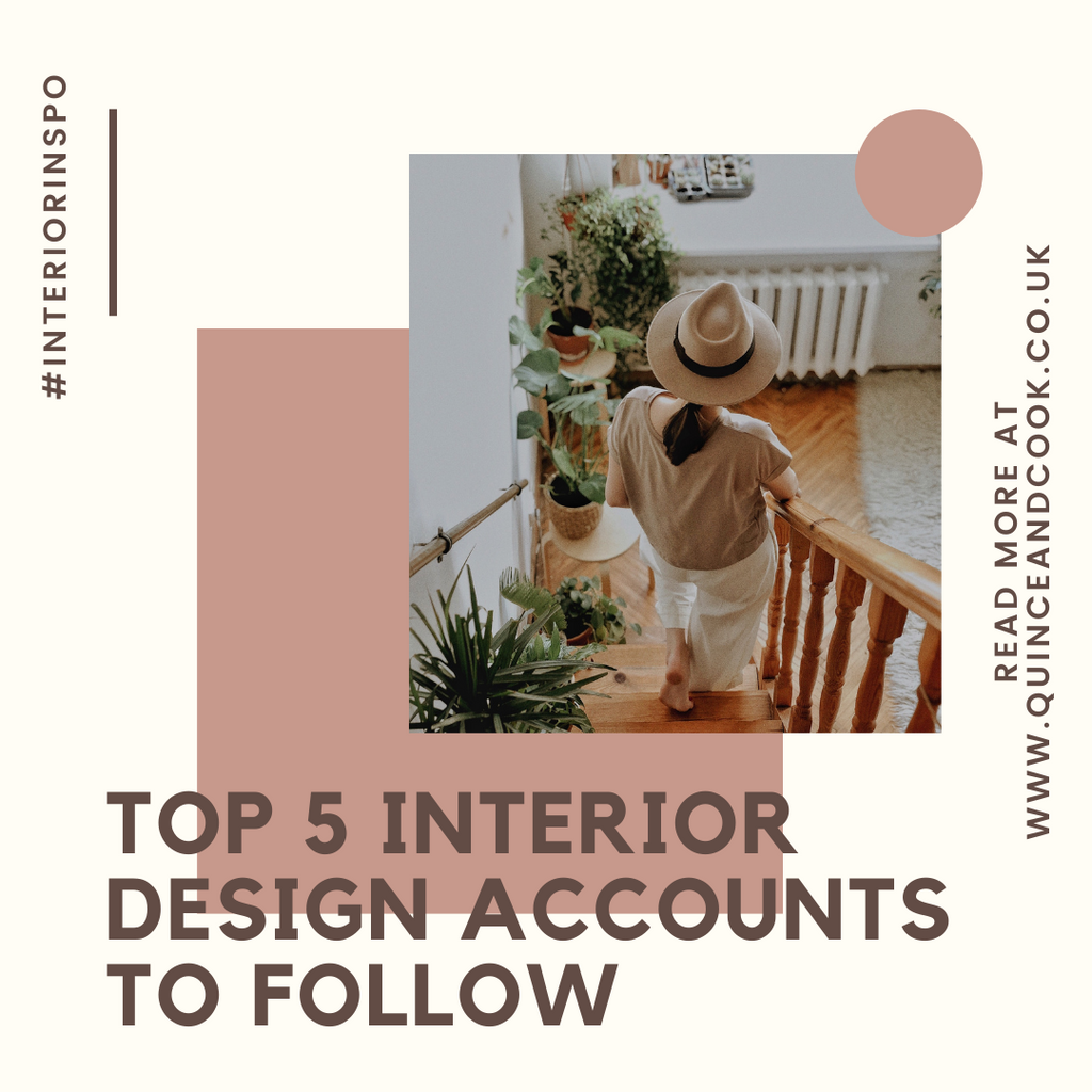 Top 5 Interior Design Instagram Accounts to Follow